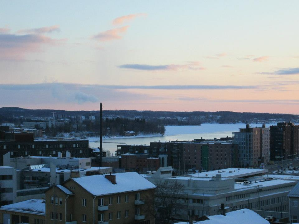 winter in Tampere