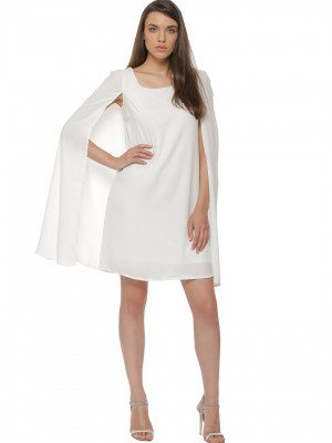 KOOVS Cape Sleeves Dress