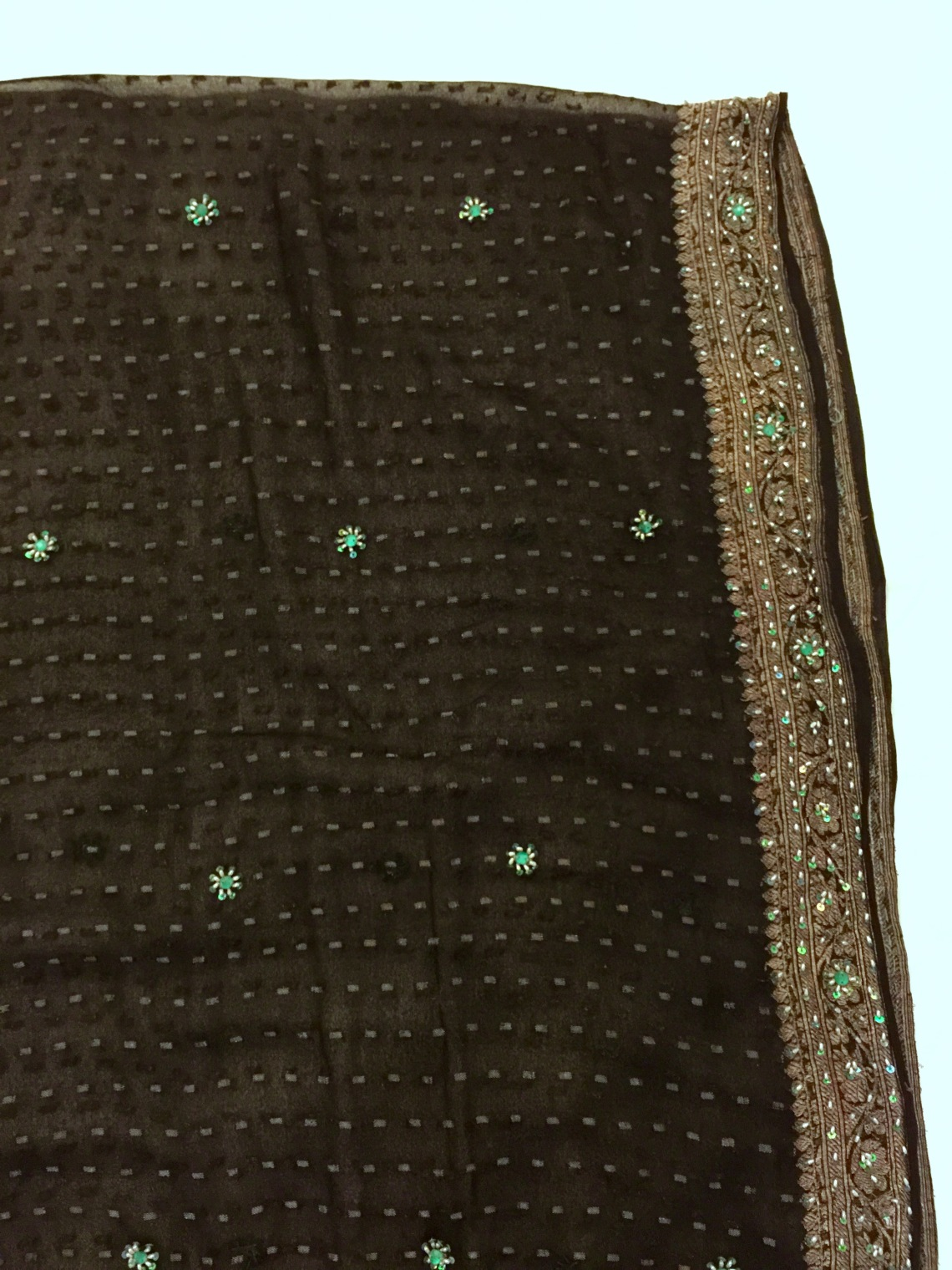 vintage silk dupatta