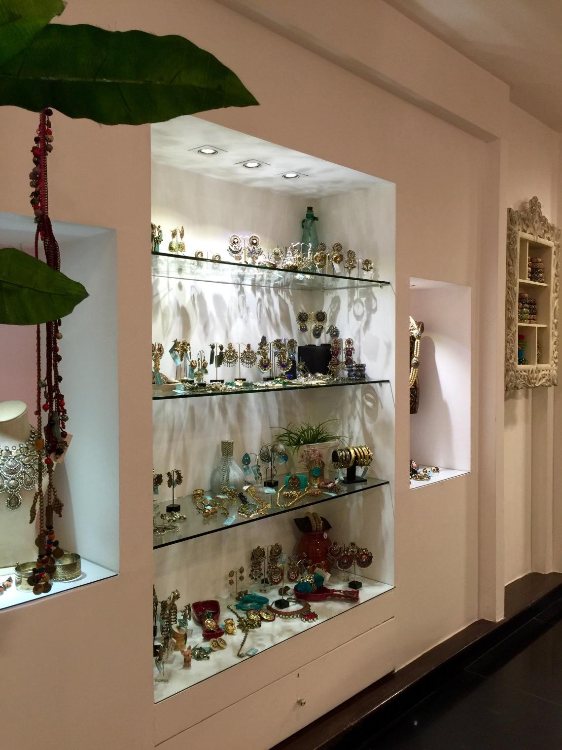 Hauz Khas jewellery shop