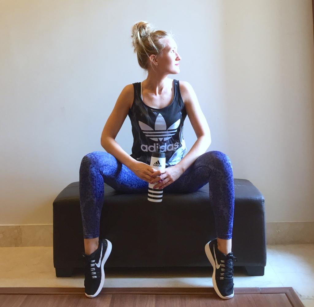 Adidas, Puma, Nike gym gear