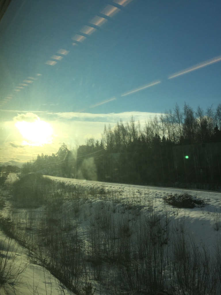 Snowy Helsinki
