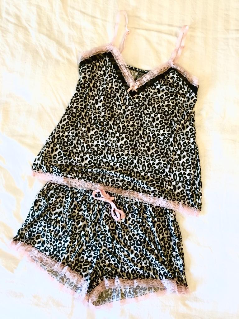Leopard print pyjama