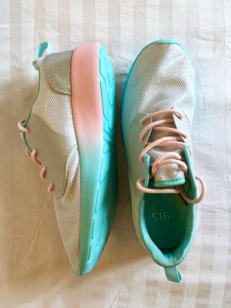 New Look glitter sneakers