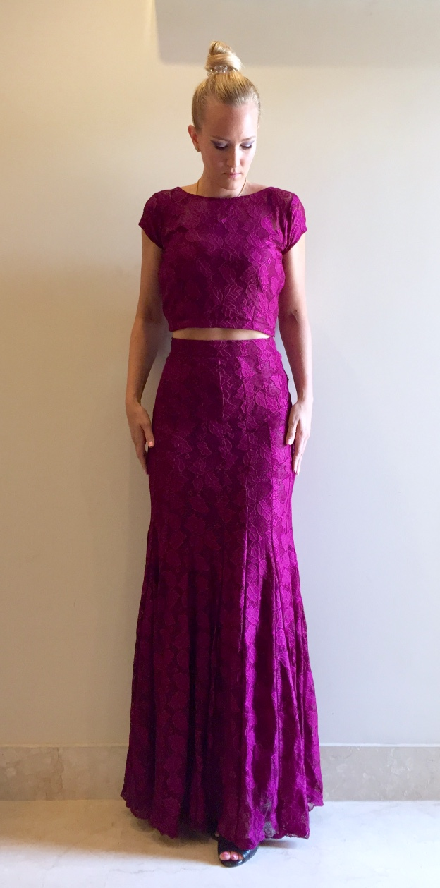 Custom-made Indo-Western Dress