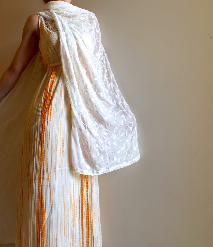 Maxi dress & dupatta from Jabong