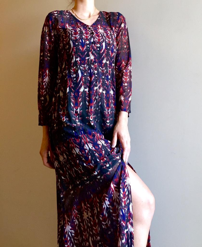 Maxi dress/coat from Jabong