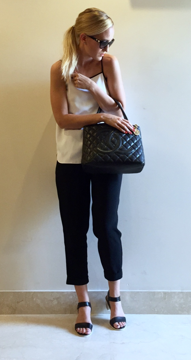 Classic Black & White Outfit