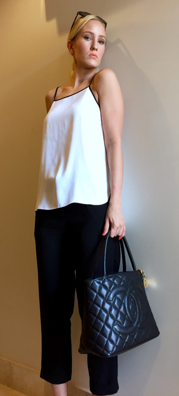 Black & White Classy Outfit