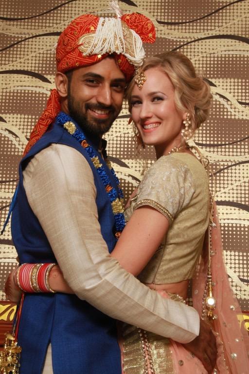 Finnish-Indian couple