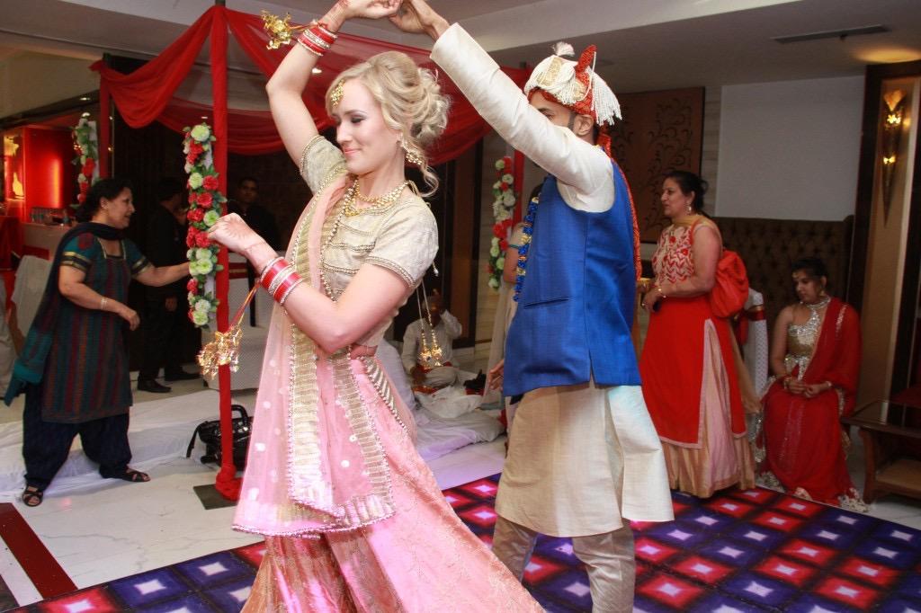finnish-indian wedding