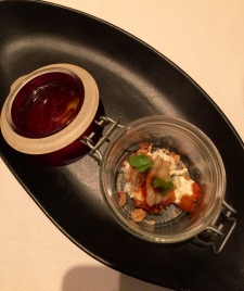 Indian Accent tasting menu