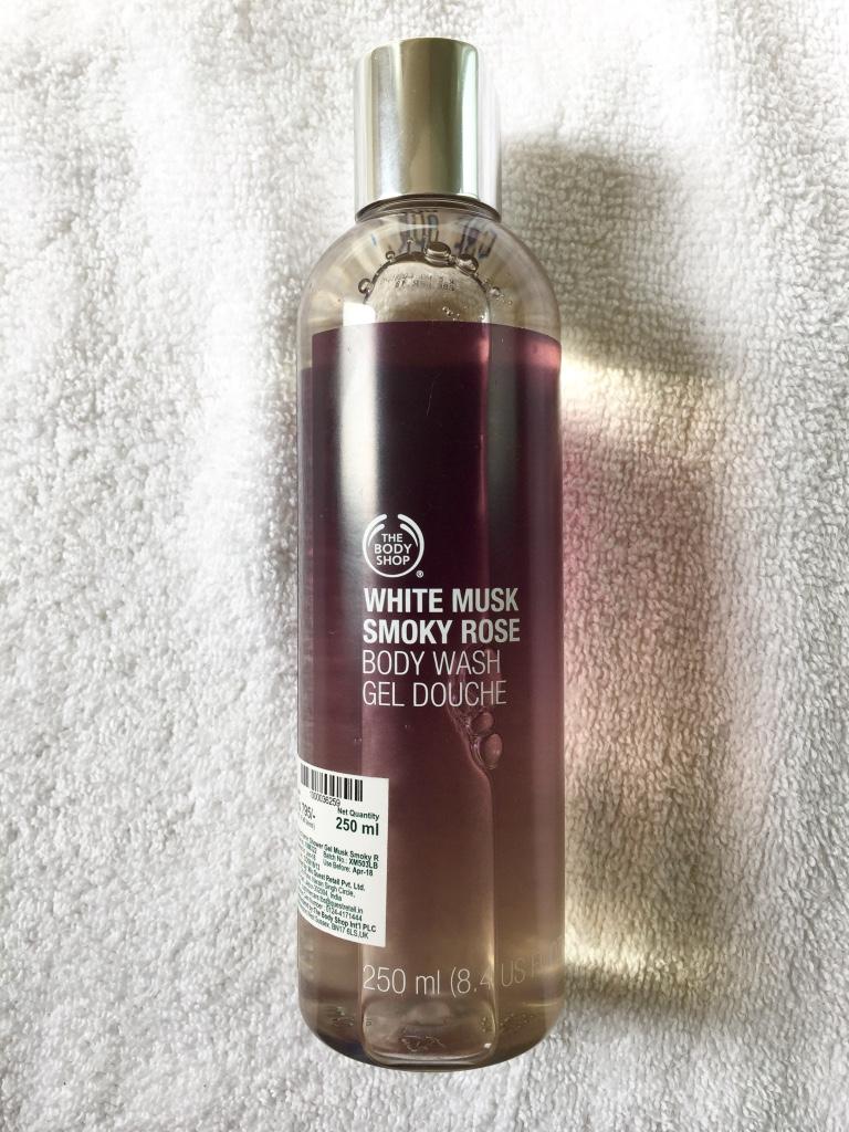 White Musk Smoky Rose Body Wash
