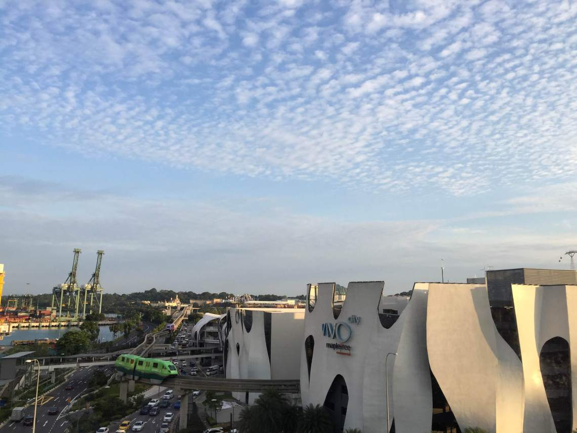 Vivo City and Monorail to Sentosa Island