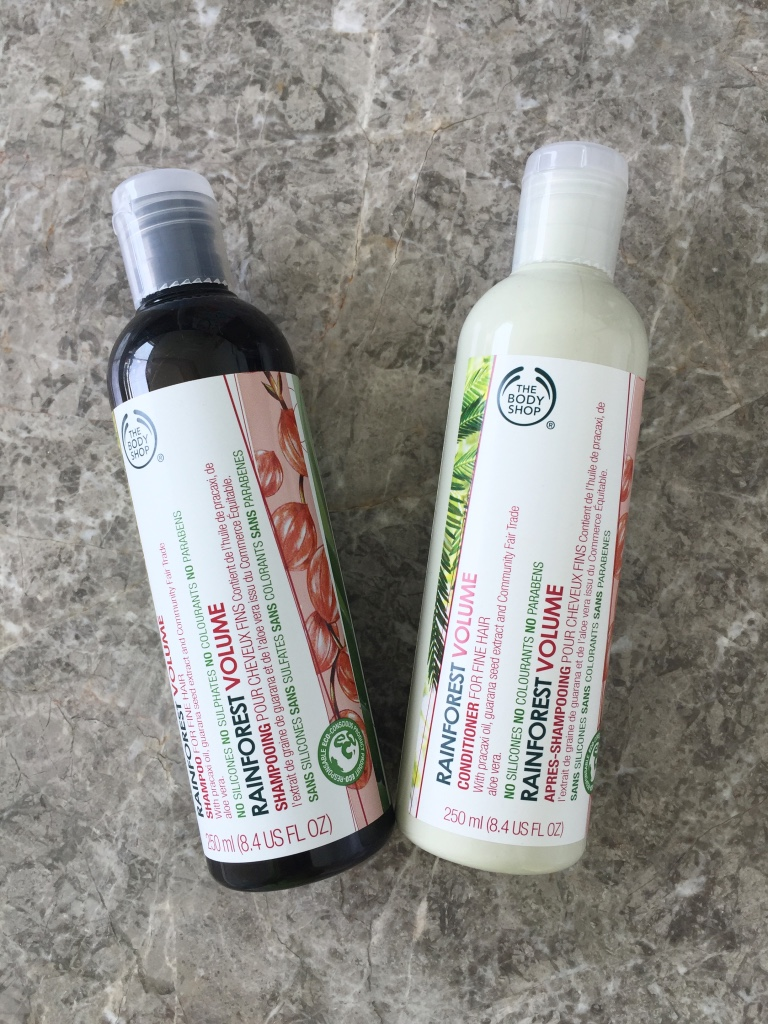 The Body Shop Rainforest Volume Shampoo & Conditioner
