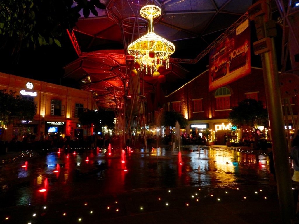 Clarke Quay nightlife, Singapore 2