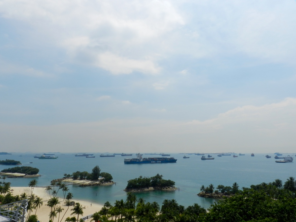 Beach view at Fort Siloso, Sentosa