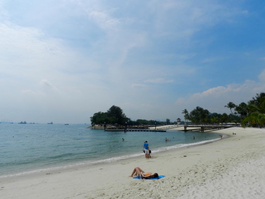 Siloso Beach, Sentosa