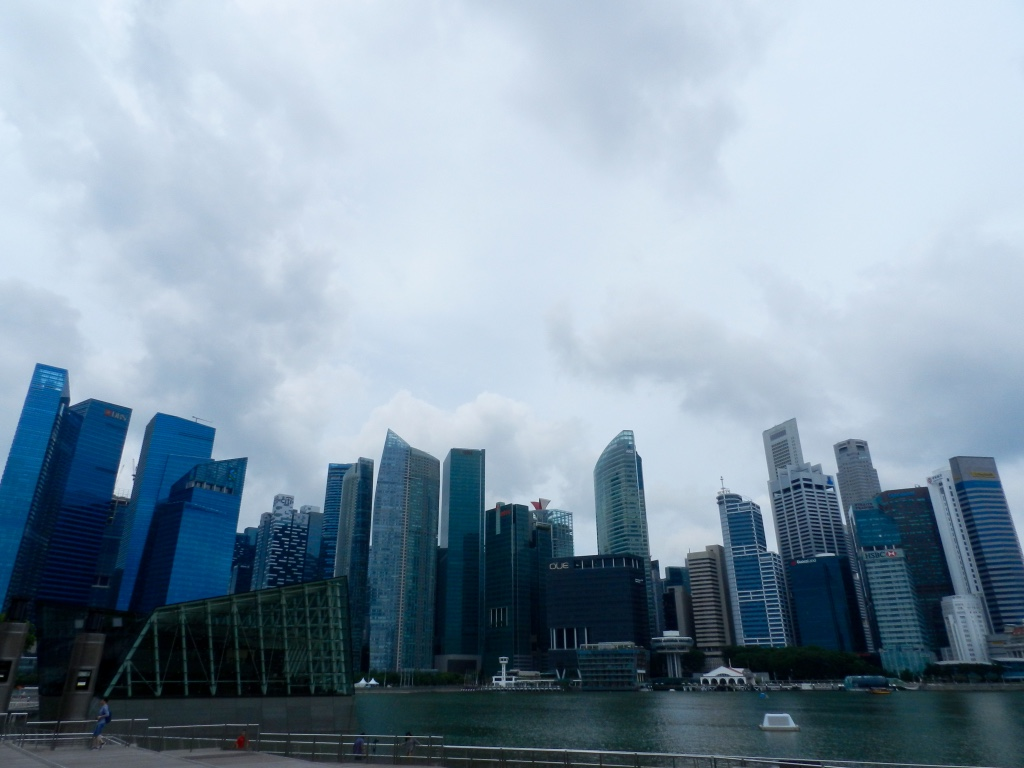 Marina Bay skyscrapers, Singapore