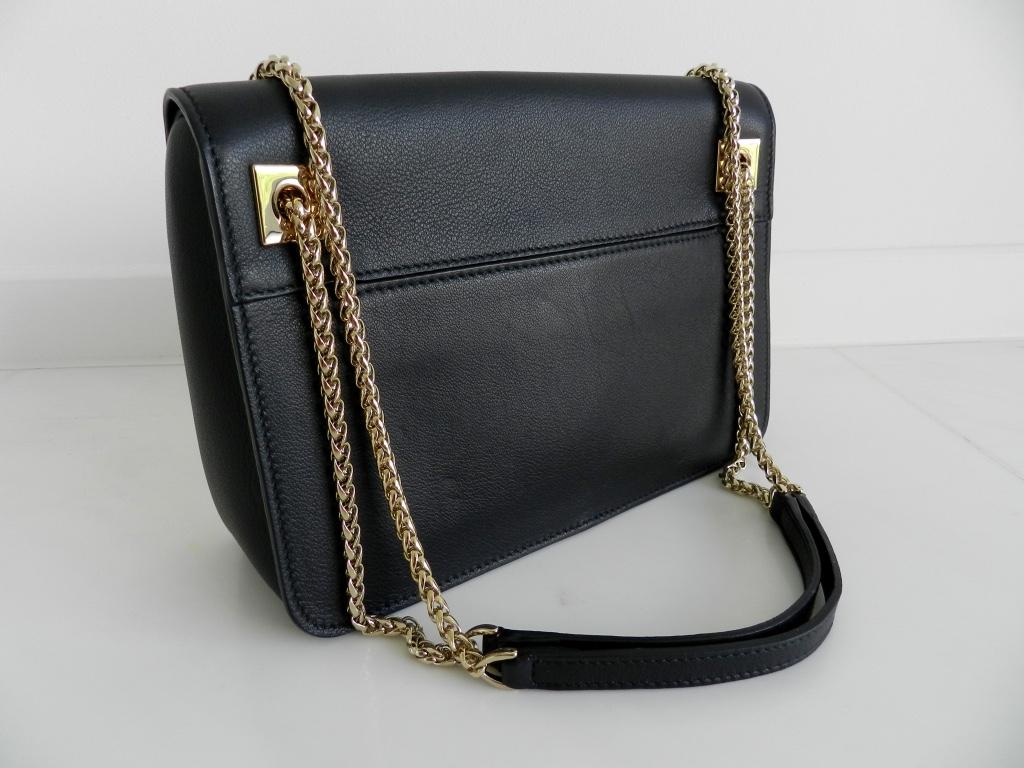 Furla Diana Crossbody Leather Bag Onyx