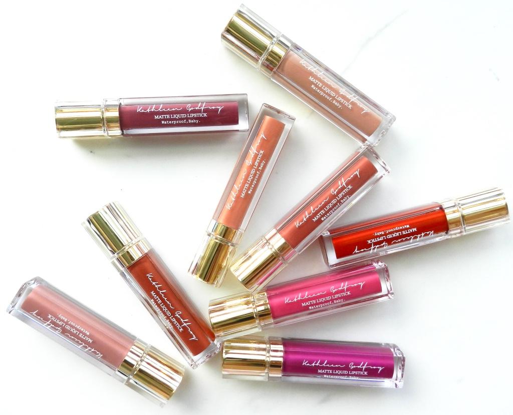 Kathleen Godfroy Lip Colours