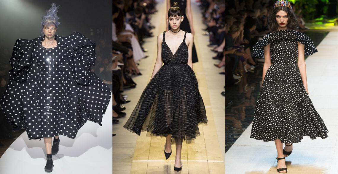 Comme des Garçons, Dior, Dolce