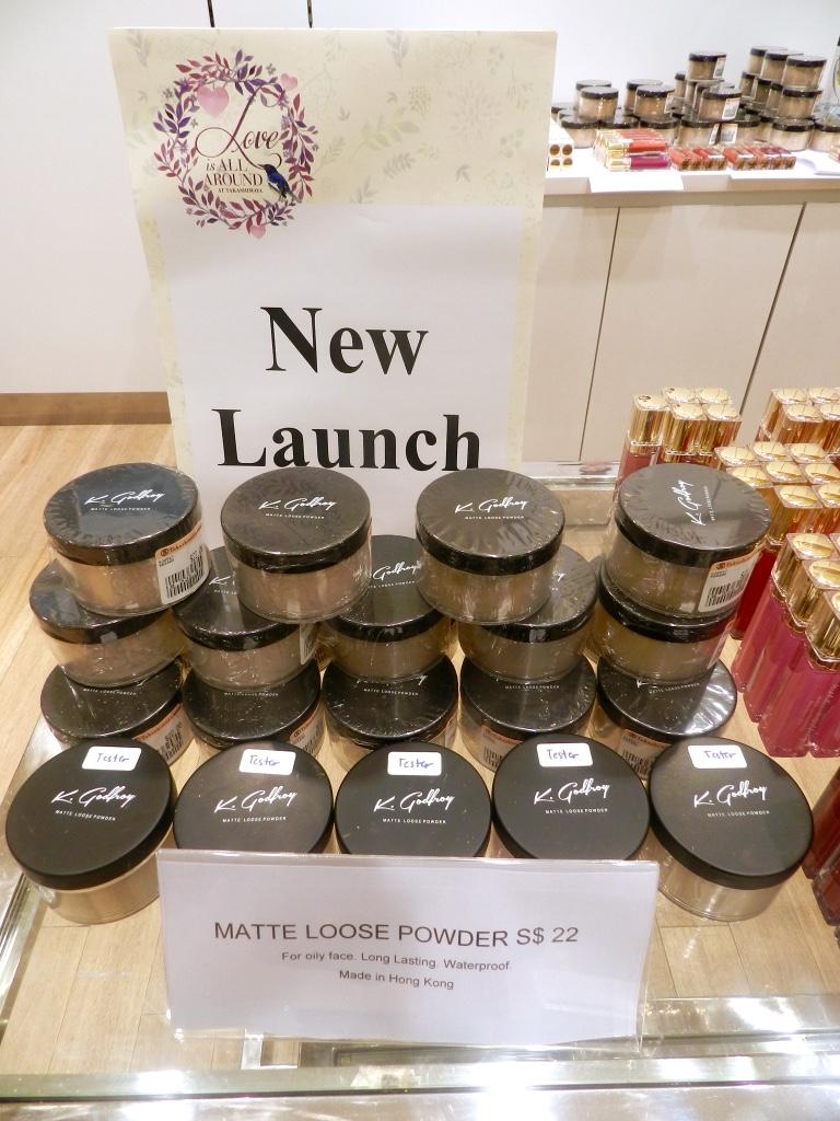 K.Godfroy Cosmetics Matte Loose Mineral Powder