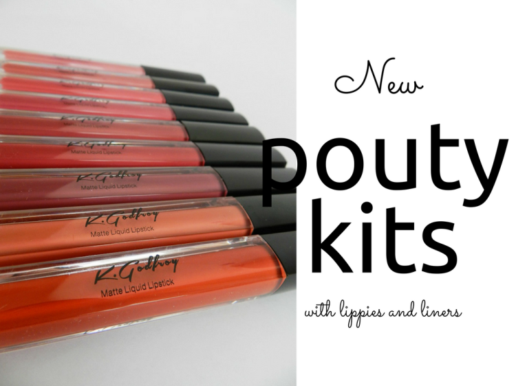 K.Godfroy Cosmetics Pouty Kits