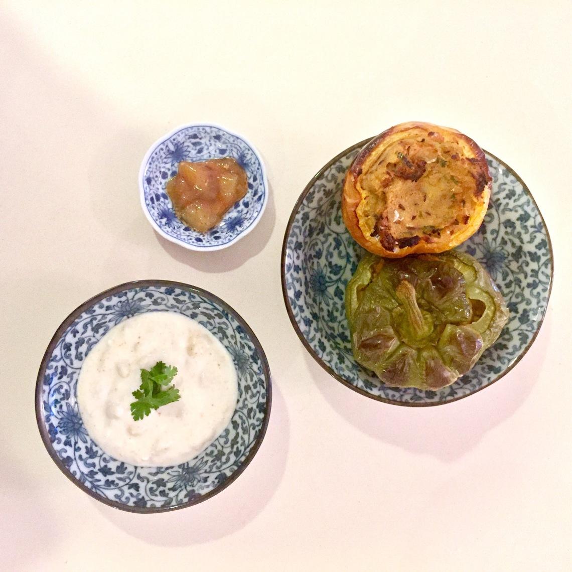 Aloo stuffed capsicum indian veg recipe