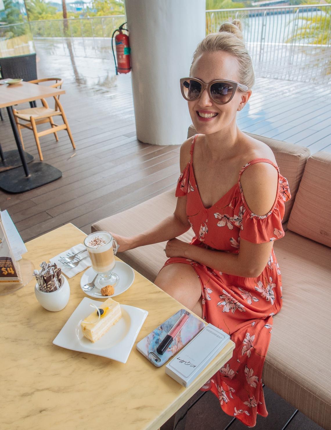 cafe tcc vivo city blogger findianlife