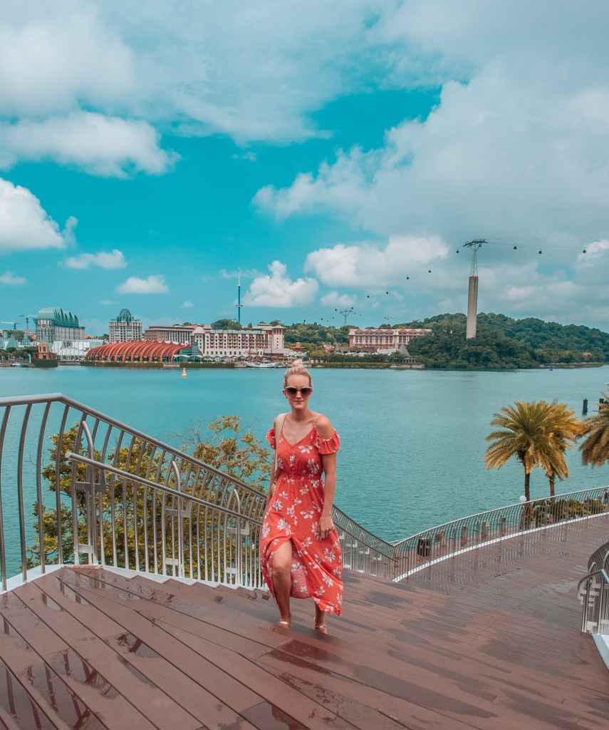 fashion blogger Findianlife orange sun dress