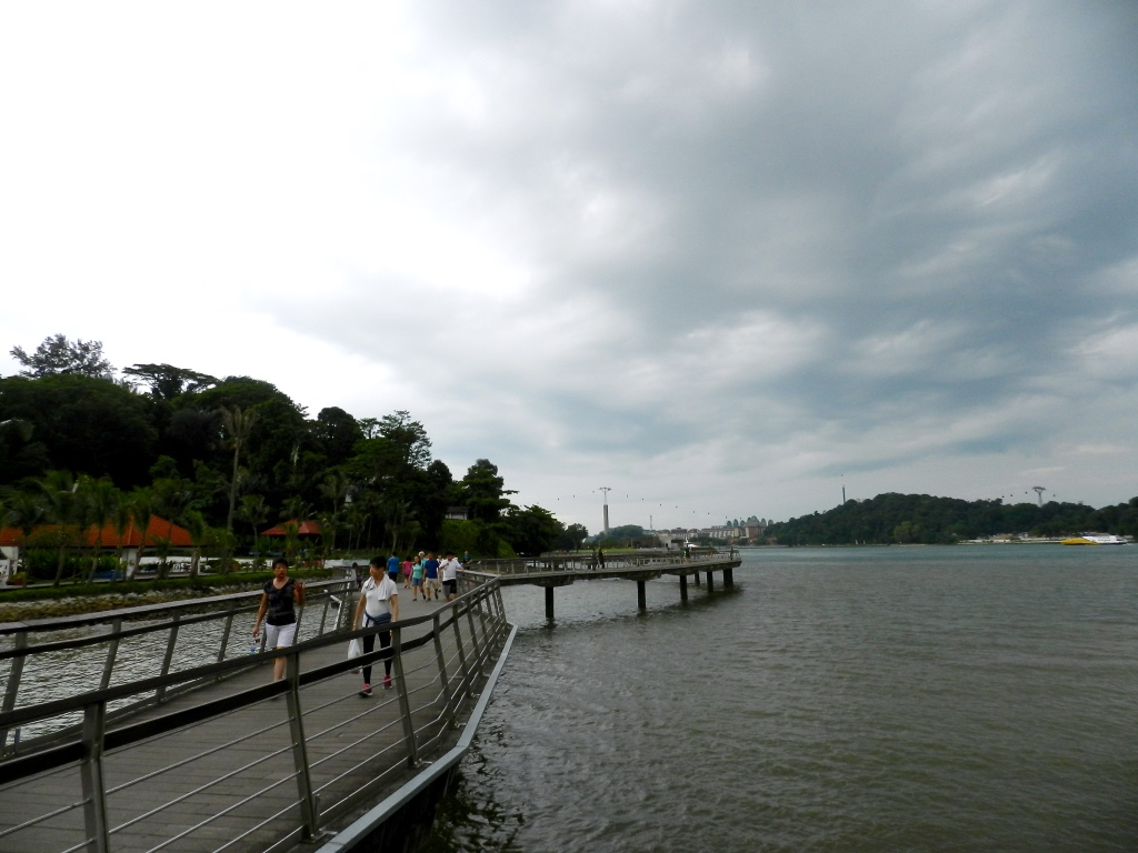 Keppel Bay Boardwalk to Labrador Park SIngapore Findianlife