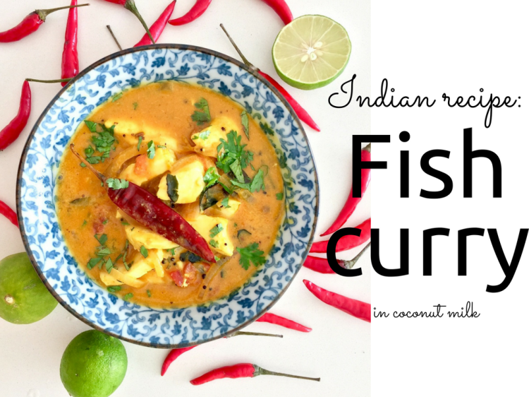 the best indian fish curry recipe by blogger Findianlife