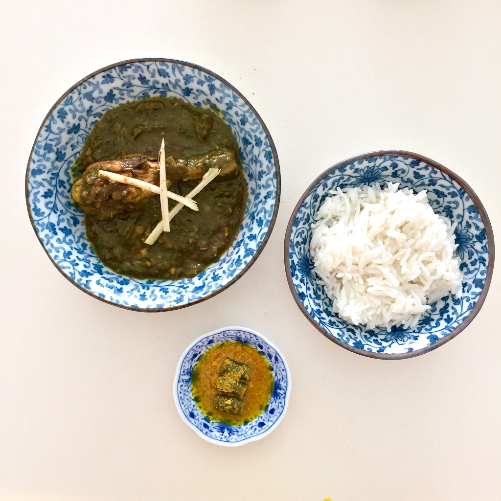Palak chicken curry recipe blog Findianlife