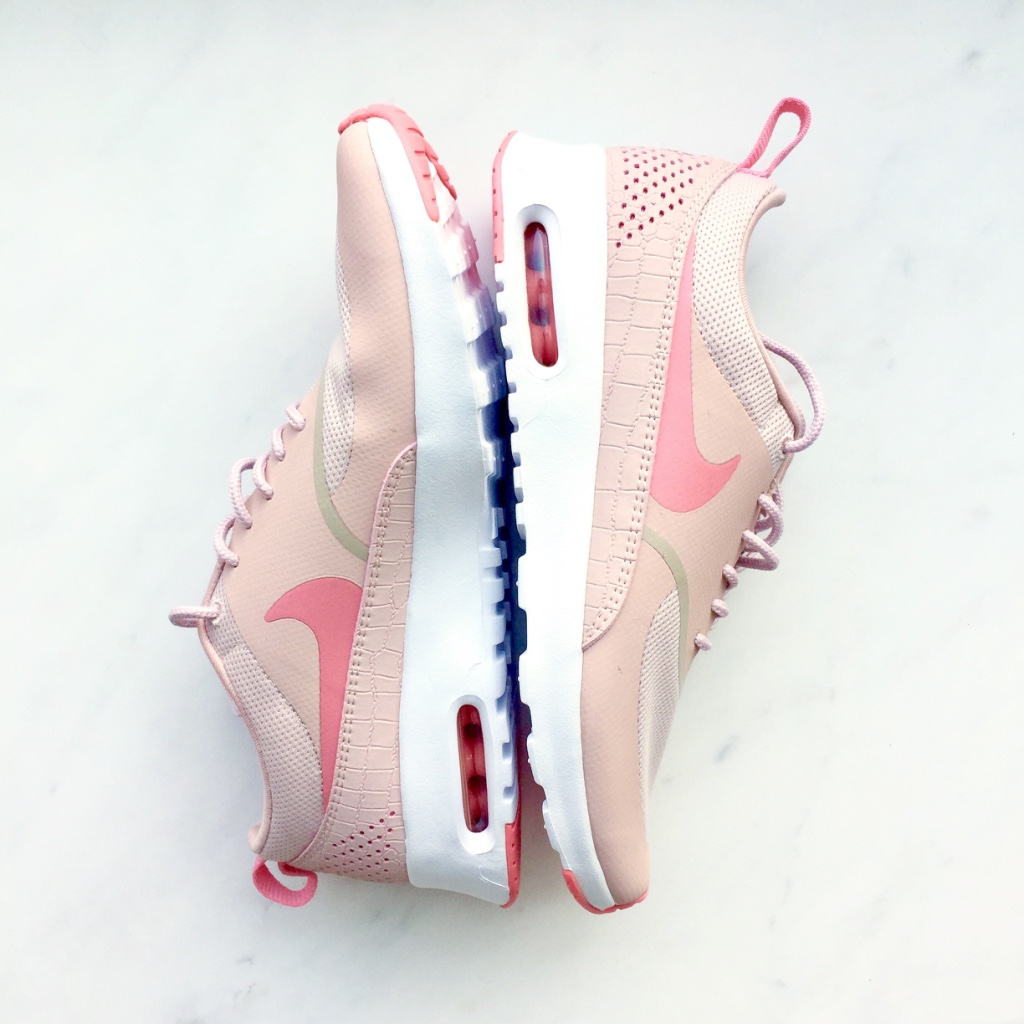 Nike Air Max Thea pink nude sneakers