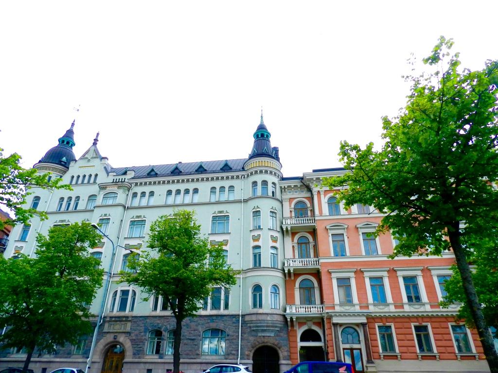 Helsinki architecture Katajanokka blogger Findianlife