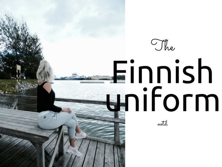 the finnish uniform outfit by fashion blogger findianlife