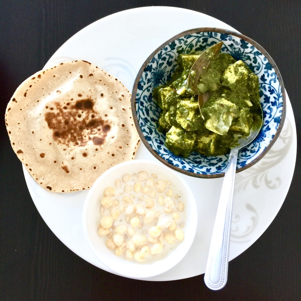 palak paneer indian recipe by blog Findianlife