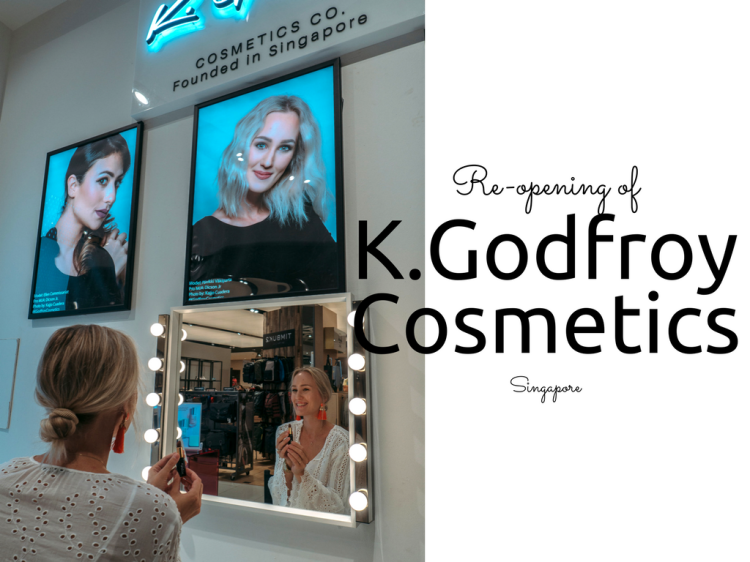K.Godfroy Cosmetics Tangs re-opening in Vivo City Singapore