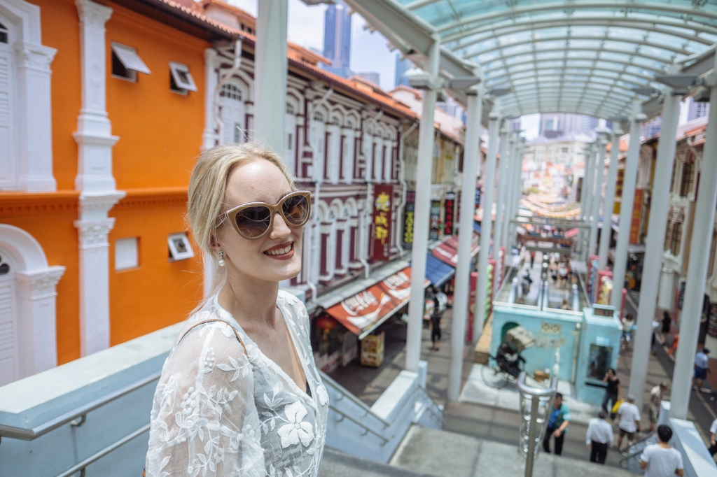 Chinatown fashion blogger Findianlife Singapore