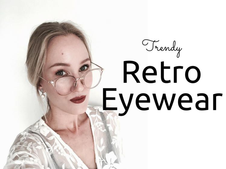 Retro plastic eywear cat-eye blog Findianlife