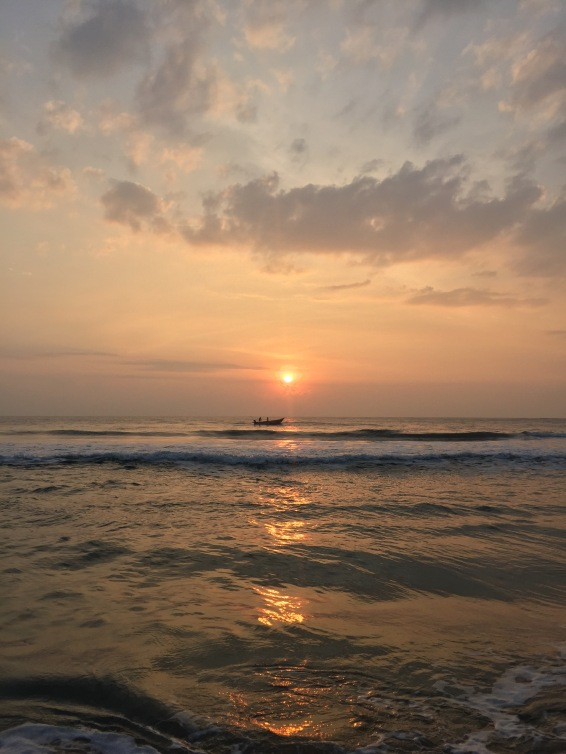 Taj Fisherman's Cove Chennai Covelong beach sunrise