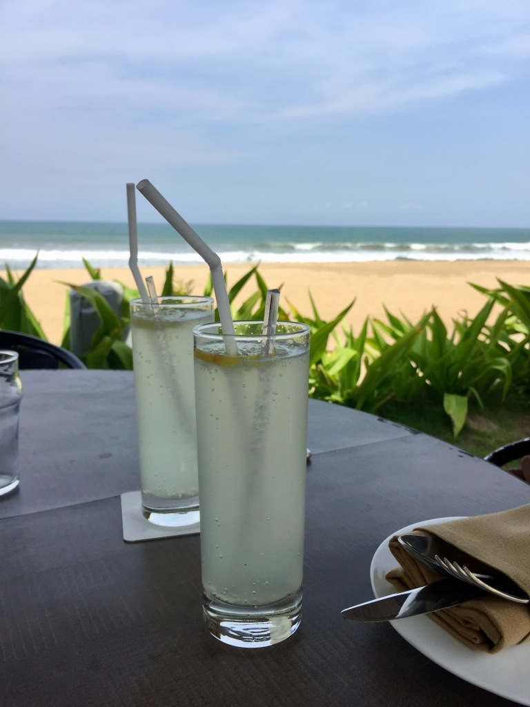 fresh lime soda Bayview restaurant covelong beach
