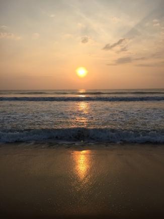 Taj Fisherman's Cove Chennai Covelong beach sunrise
