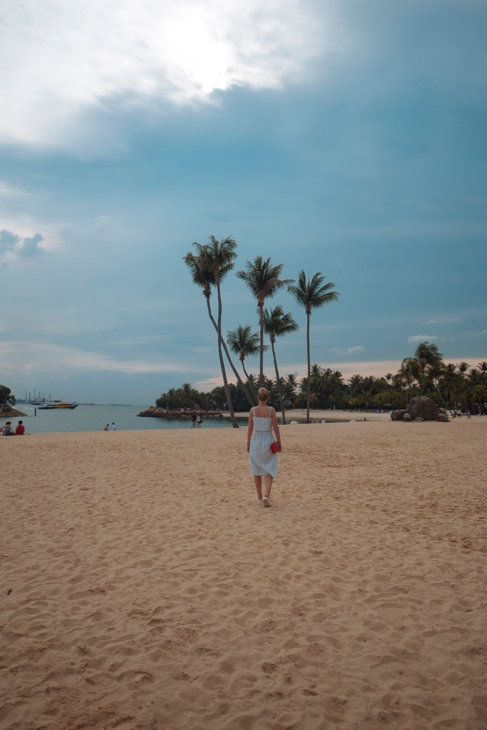 ootd Sentosa beach Singapore blog Findianlife