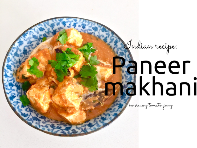 Paneer butter masala recipe blog Findianlife