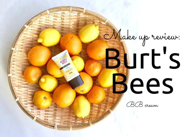 Burt's Bees BB cream review and swatch in light/medium