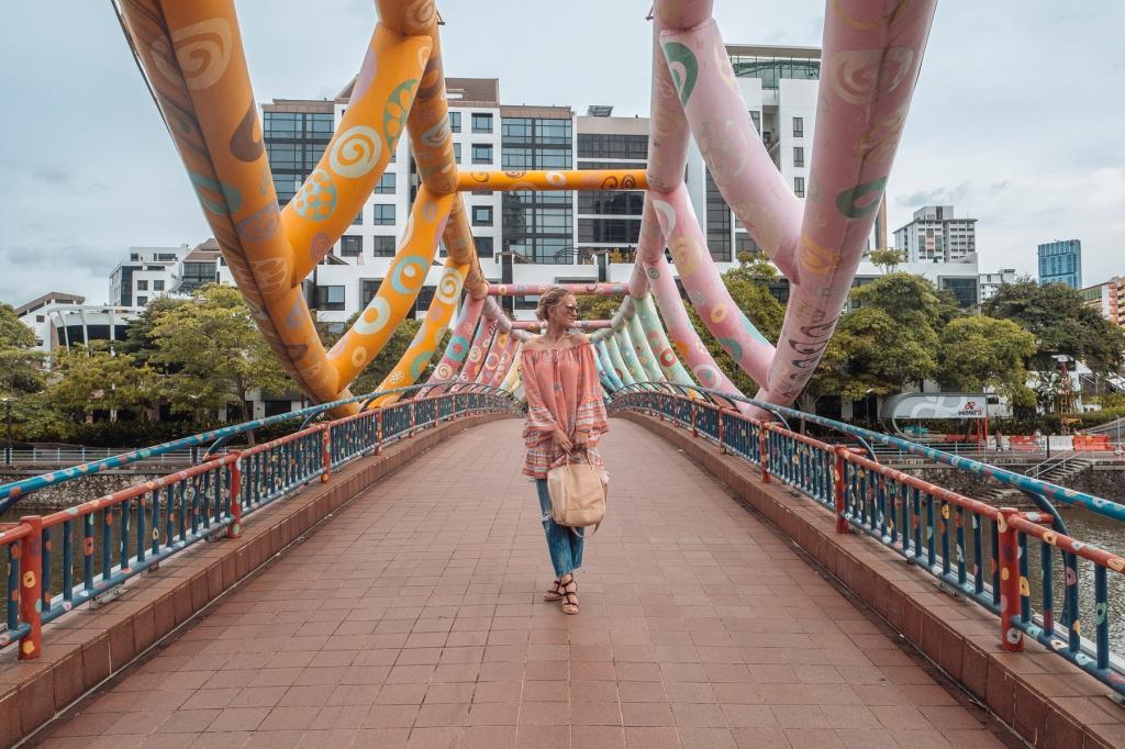 Boho dress at River Valley Singapore blog Findianlife