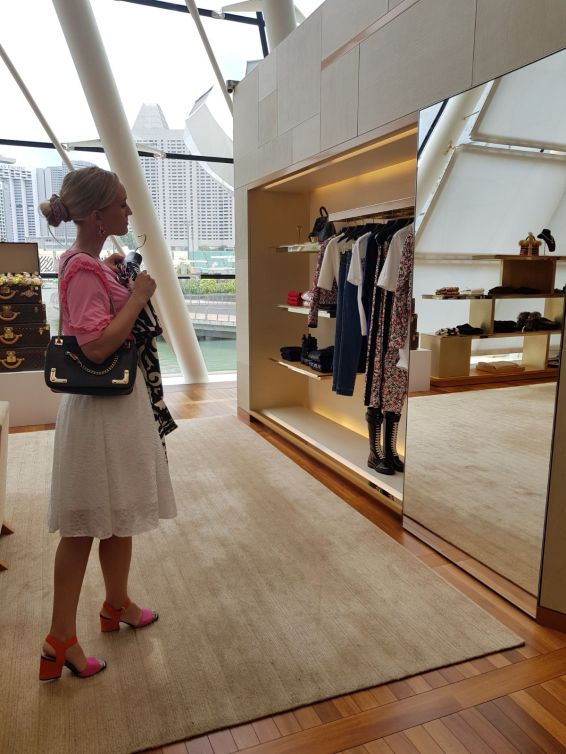 Louis Vuitton flagship store Singapore blog Findianlife