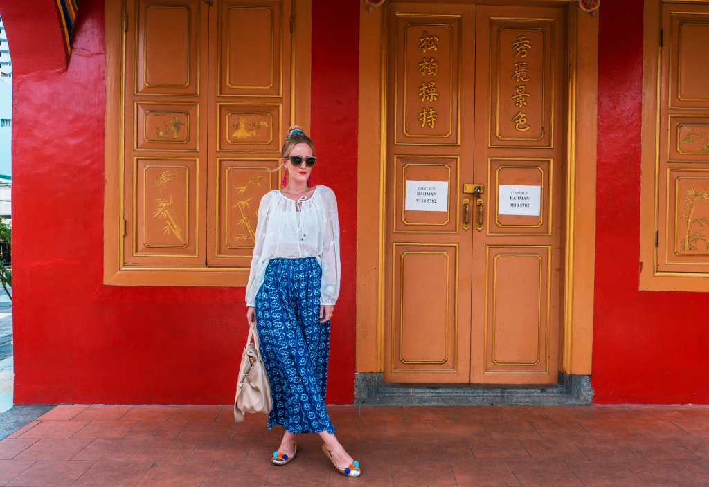 Boho outift in Little India blog Findianlife